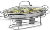 """Cuisinart Classic Stainless Steel 13.5"""" Oval Covered Buffet Server"""
