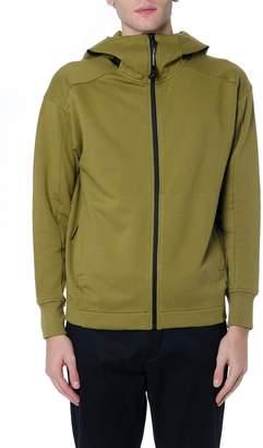 C.P. Company Green Cotton Sweatshirt