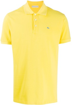 Etro Embroidered-Logo Polo Shirt