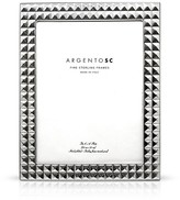 "Bloomingdale's Argento SC 8 x 10"" Double Stud Frame"