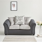 QuartzFabric Compact 2 Seater Scatter Back Back Sofa