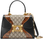 Gucci Osiride small GG top handle bag