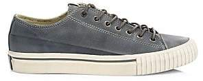 John Varvatos Men's Vulcanized Low-Top Leather Sneakers