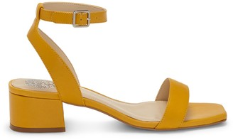 Vince Camuto Leather Heeled Sandals - Jantta