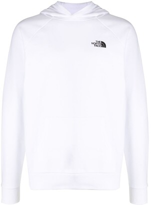 The North Face Logo-Print Long-Sleeved Hoodie