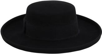 Eugenia Kim Julian Wool Felt Boater Hat