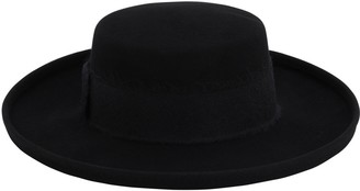 Eugenia Kim Julian Wool Felt Boater Hat