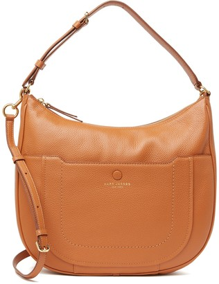 Marc Jacobs Empire City Leather Hobo Crossbody Bag