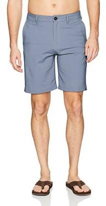 Quiksilver Young Mens Twill Y/d Amphibian 20 Hybrid Short Shorts