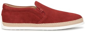 Tod's Suede Slip-On Sneakers