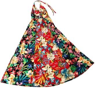 Non Signã© / Unsigned Hippie Chic Multicolour Cotton Dresses