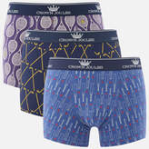 Joules Men's 3 Pack Novelty Printed Boxer Shorts