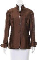 Carolina Herrera Wool-Blend Long Sleeve Jacket