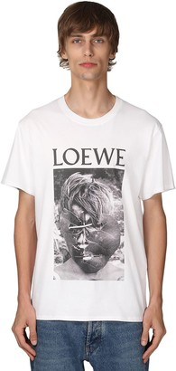 Loewe Lord Of The Flies Cotton Jersey T- Shirt