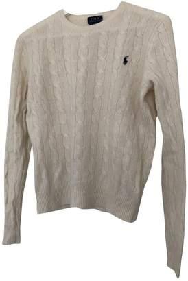 Polo Ralph Lauren Ecru Wool Knitwear for Women