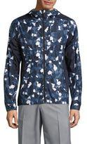 J. Lindeberg Geometric Camouflage Hooded Jacket