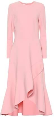 Oscar de la Renta Stretch wool dress