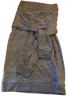 Ann Sofie Back Ann-sofie Back Grey Cotton Skirt for Women