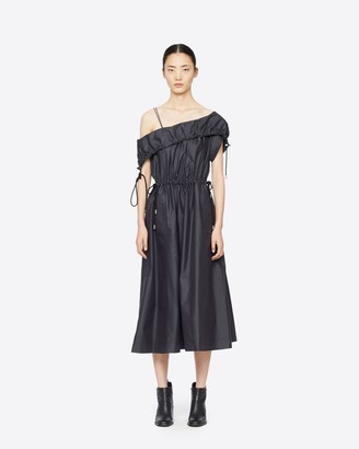 3.1 Phillip Lim Cold Shoulder Utility Dress