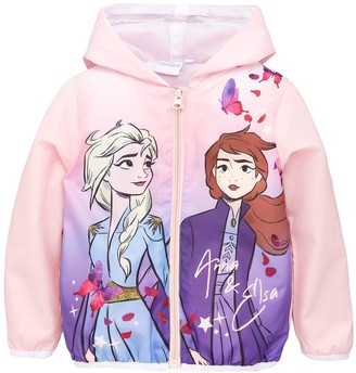 Disney Frozen Girls Frozen Lightweight Coat - Pink