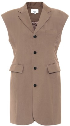 Frankie Shop Loulou blazer minidress
