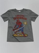 Junk Food Clothing Kids Boys Spiderman Tee -steel-m