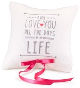 Hortense B. Hewitt Ring Pillow - I Will Love You All the Days of My Life