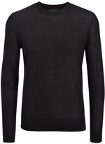 Joseph Light Merinos Sweater in Black