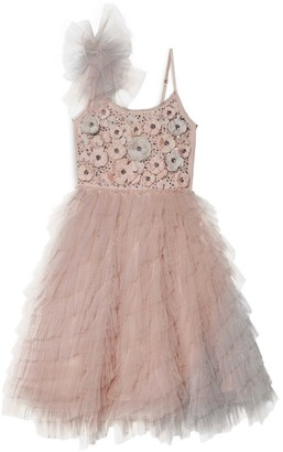Tutu Du Monde Rose Embellished Tutu Dress (2-11 Years)