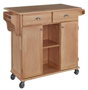 Home Styles Natural Napa Kitchen Cart