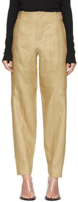 Vejas Beige Phantom Trousers