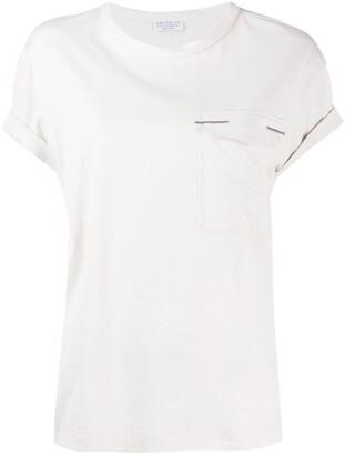 Brunello Cucinelli patch-pocket T-shirt
