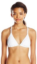 Body Glove Women's Smoothies Oasis Braided Triangle Bikini Top