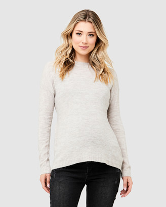 Ripe Maternity Women's Jumpers & Cardigans - Meg Tie Up Knit - Size One Size, XS at The Iconic