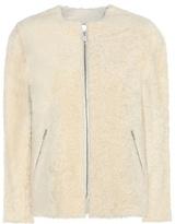 Isabel Marant Aja Shearling And Leather Reversible Jacket