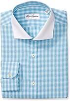 Robert Graham Men's Classic Fit Check Dot Dress Shirt
