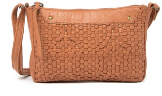Day & Mood Smilla Woven Leather Crossbody Bag