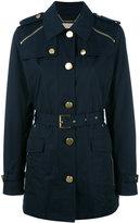 MICHAEL Michael Kors zipped shoulder coat