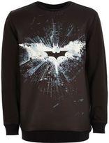 River Island Boys black Batman print sweatshirt
