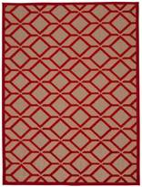 Nourison Aloha Red Indoor/Outdoor Rug