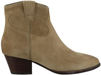 Ash Houston Western Ankle Boots