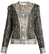 Christopher Kane Reversible tweed jacket