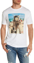 Kid Dangerous Beachstonaut Short Sleeve Front Graphic Print Tee