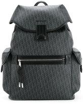Christian Dior printed backpack