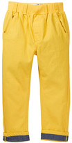 Rockin' Baby Yellow Pull-On Chino Pant (Toddler & Little Boys)