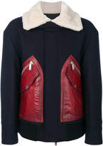 DSQUARED2 contrast coat
