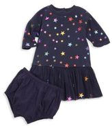 Stella McCartney Baby's Two-Piece Star-Print Dress & Bloomers Set