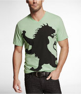Express Graphic Tee - Oversized Lion
