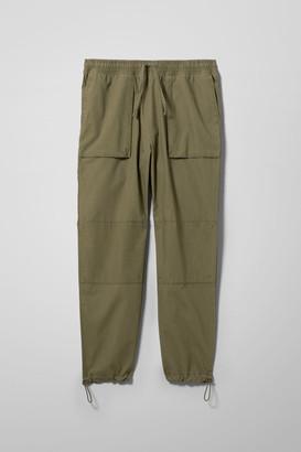 Weekday Noah Worker Trousers - Green