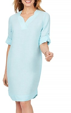Foxcroft Harmony Non Iron Linen Dress
